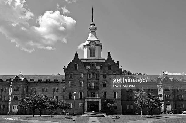 View of the main building of the TransAllegheny Lunatic Asylum in Weston West Virginia on August 24 2013 Later called the Armand Auclerc Weston State...