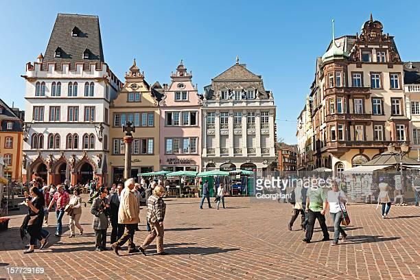 Blick auf den main market in Trier
