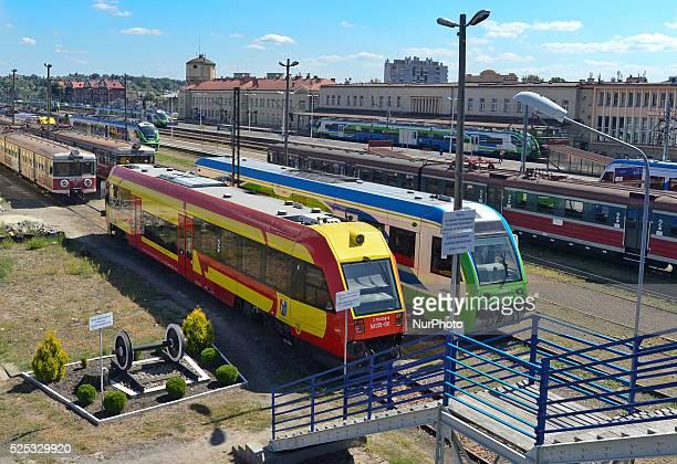 View of the main Rzeszow's train station. Rzeszow, Poland. 20 August 2015 Rzesz��w Gl��wny is the most important station of the southeastern Polish...