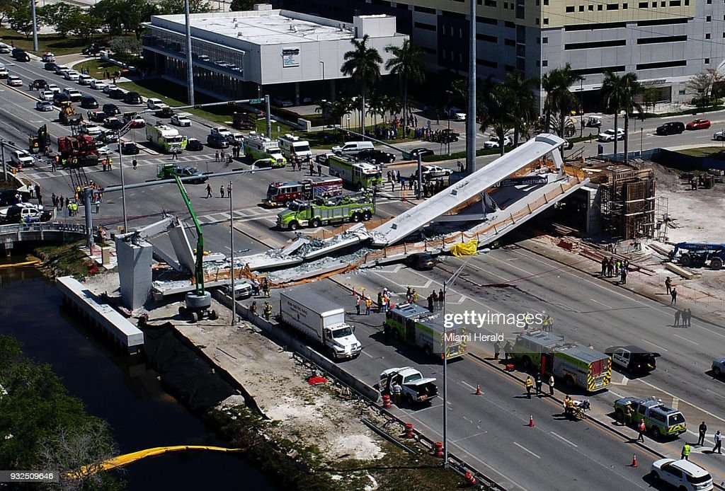 IN FOCUS - Pedestrian Bridge Collapse In Florida