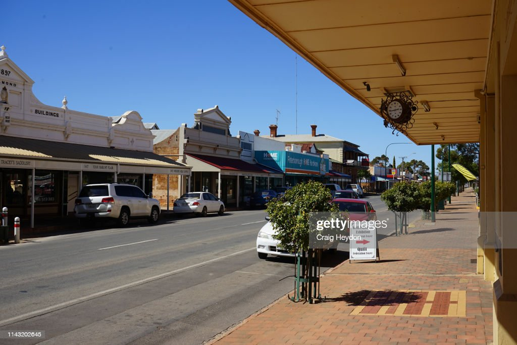 AUS: General Views Of Peterborough, South Australia