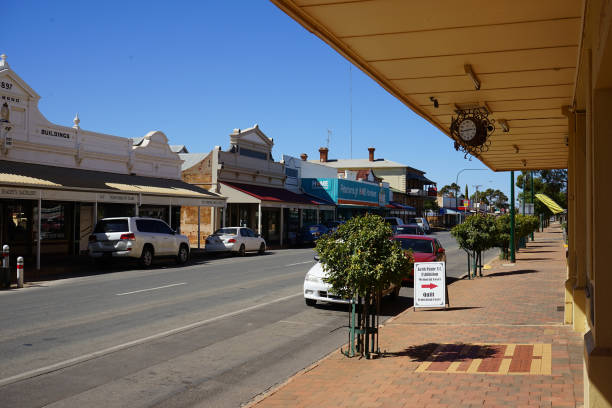 AUS: General Views Of Peterborough, South Australia