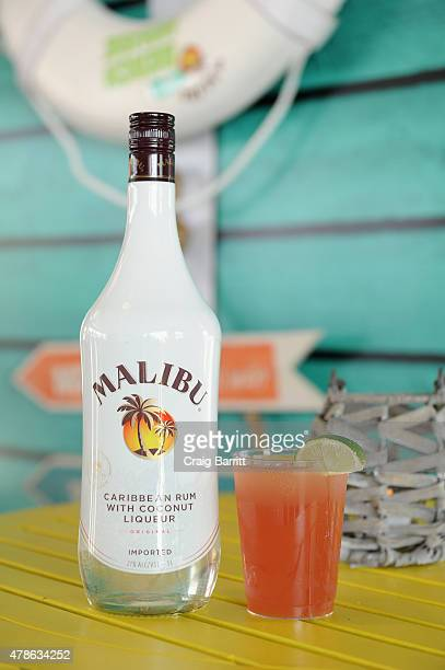 A view of the Malibu® Rum Beach House Bay Breeze at Live Nation's Farmborough Festival the inaugural country music festival in New York City