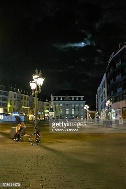 View of the Marktplatz, originated in the 11th century, with its baroque old Town Hall, in Bonn, Germany, 09 September 2014. Bonn, that offers many...