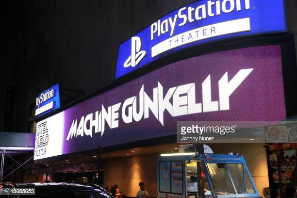 A view of the marquee at PlayStation Theater on June 8 2019 in New York City