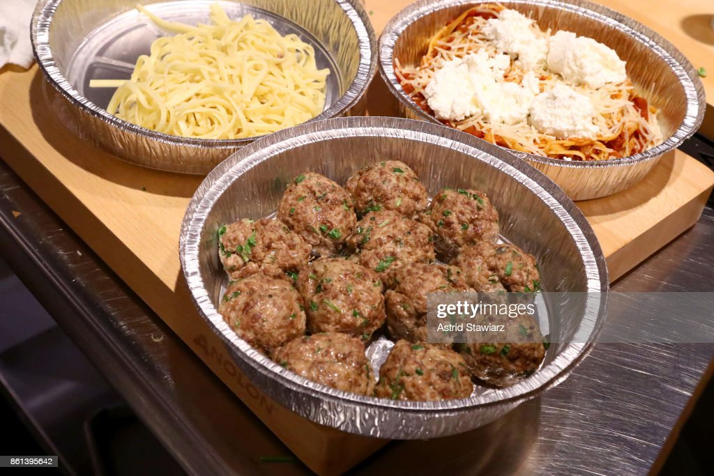 A view of the meatballs prepared during The Meatball Shop