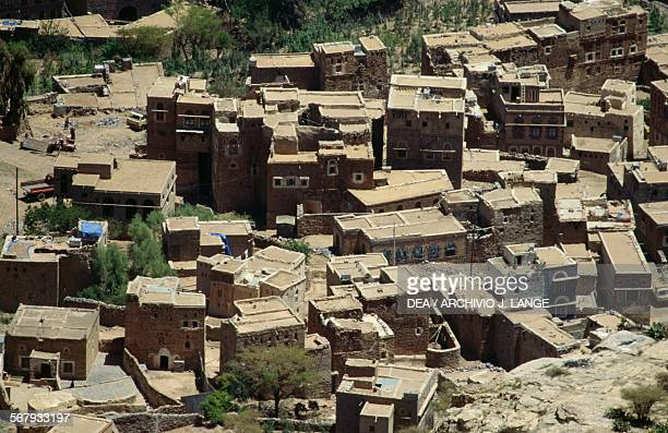 View of the medina quarter in Shibam Yemen