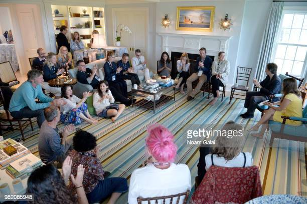 A view of the Mentor Brunch at the 2018 Nantucket Film Festival Day 4 on June 23 2018 in Nantucket Massachusetts