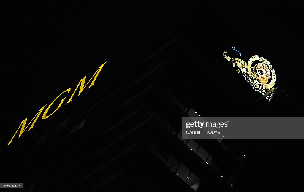 View of the MGM tower in Los Angeles, Ca : Nieuwsfoto's