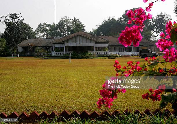 View of the Mistry Sahib's Bungalow at Jorhat in Assam India