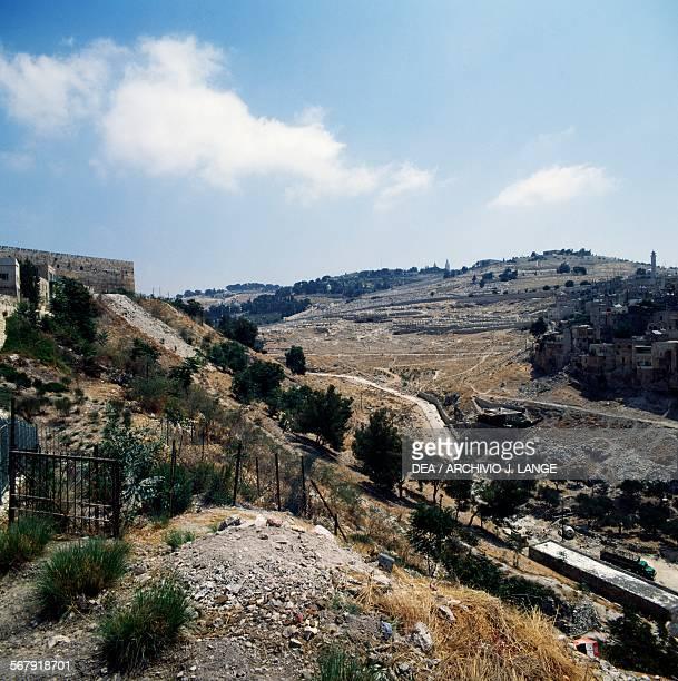 View of the Mount of Olives Jerusalem Israel