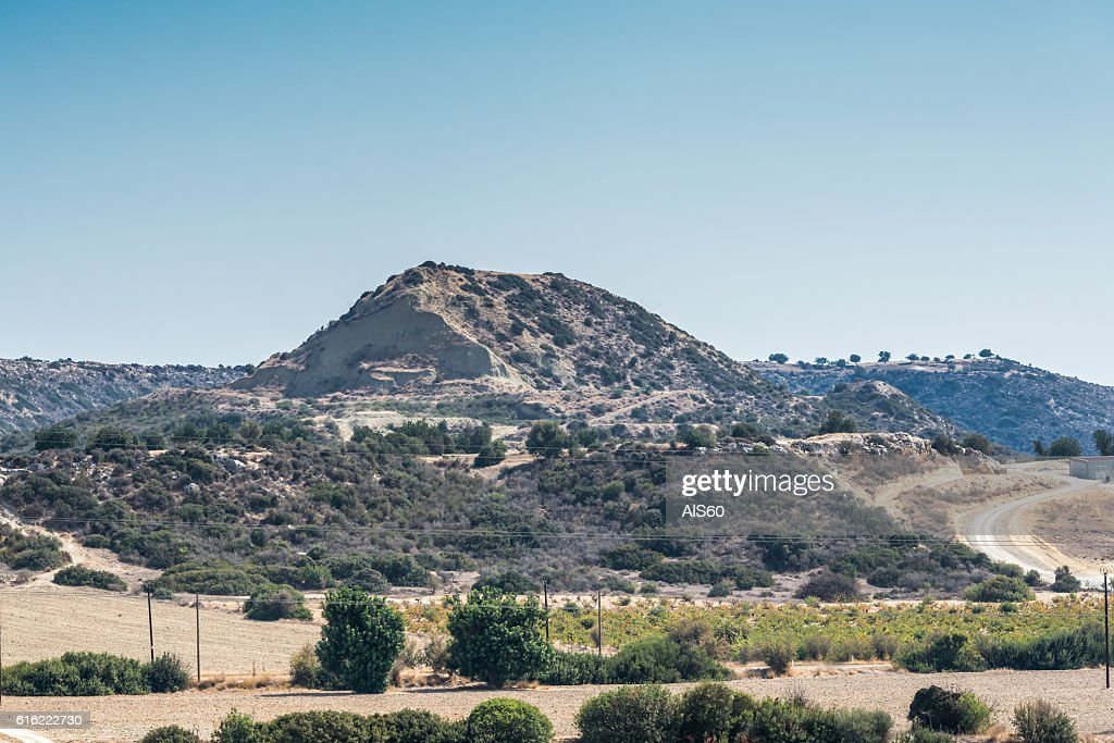 View of the mountain range, Cyprus. : Stock-Foto