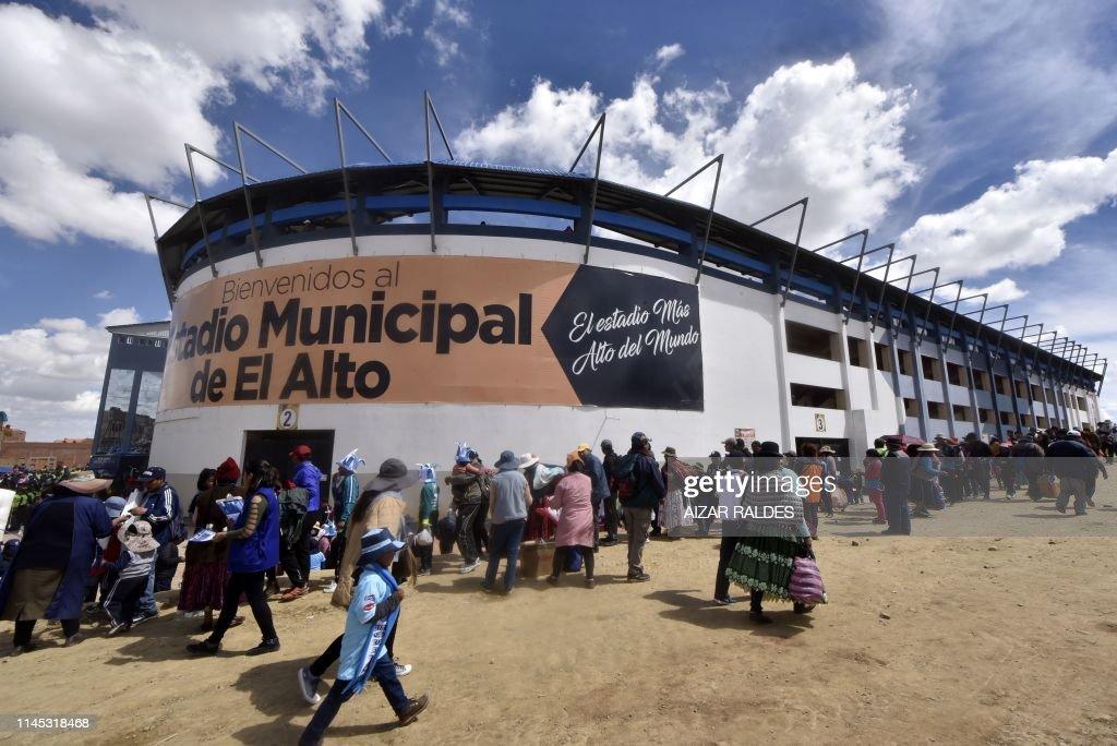 FBL-BOLIVIA-STADIUM : News Photo
