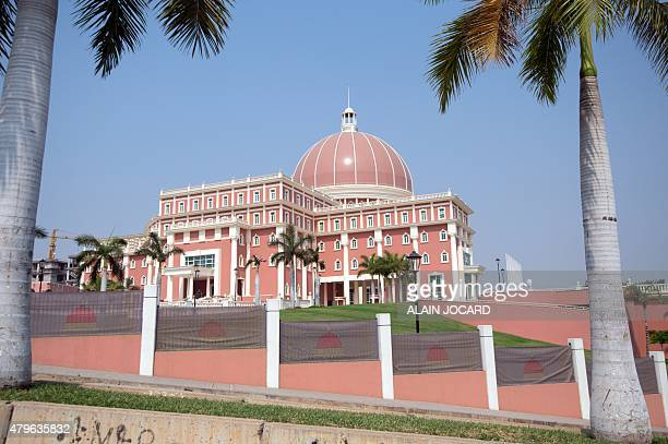 A view of the National Assembly in Luanda taken on July 3 2015 AFP PHOTO/ ALAIN JOCARD
