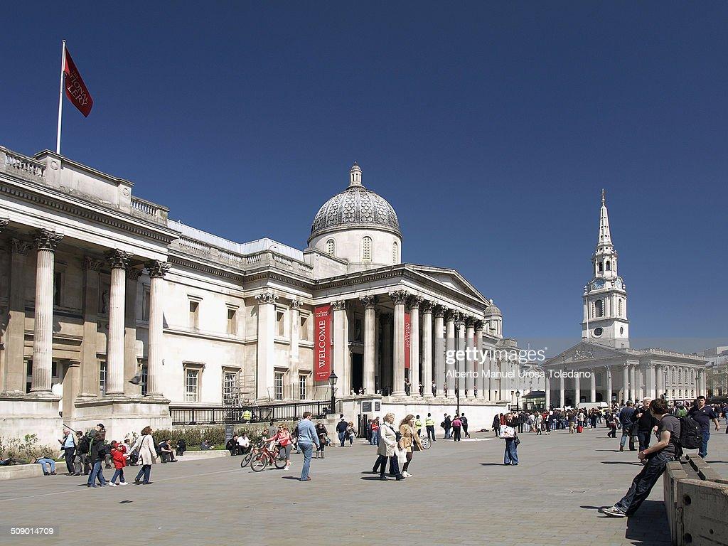 Trafalgar square, London : News Photo