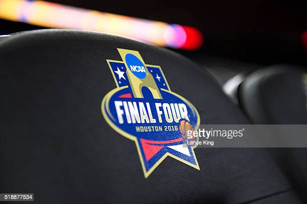 A view of the NCAA's Final Four logo during the 2016 NCAA Men's Final Four Semifinal at NRG Stadium on April 02 2016 in Houston Texas