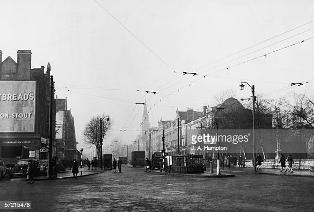 A view of the New Boadway Ealing London 2nd January 1947