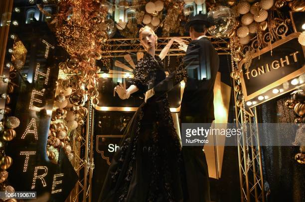 View of the new Brown Thomas Christmas Season window display. Brown Thomas unveiled their ever-so-sophisticated eight-window display with this years...