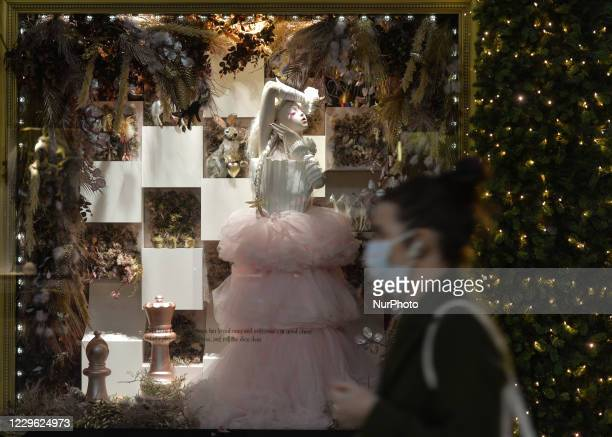 View of the new Brown Thomas Christmas Season window display. Brown Thomas unveiled their eight-window display with this years theme Dreaming Of. The...