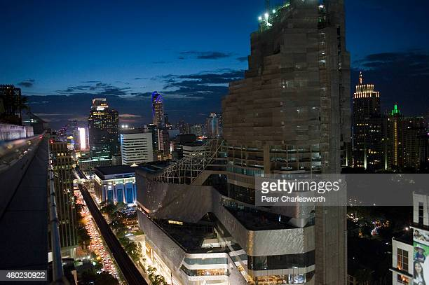 A view of the new Central Embassy building the Central Group's latest offering into the already crowded Bangkok retail store market Built on land...