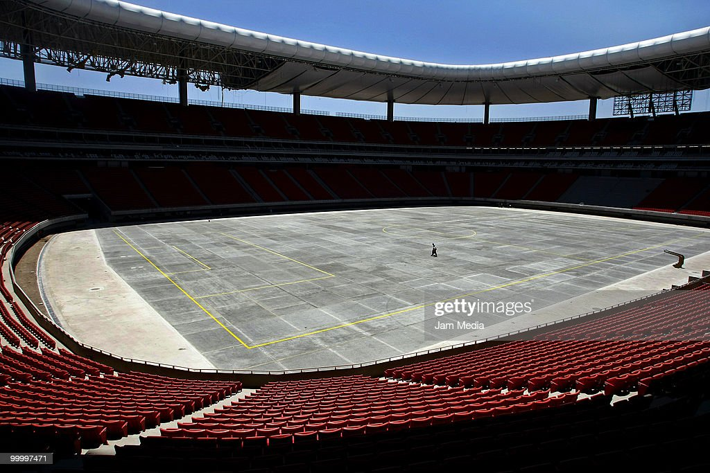 New Chivas Guadalajara Stadium Under Construction : Nyhetsfoto