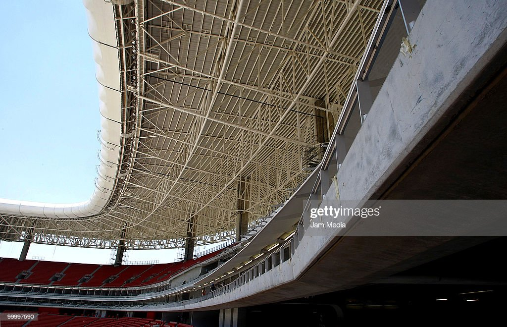 New Chivas Guadalajara Stadium Under Construction : News Photo