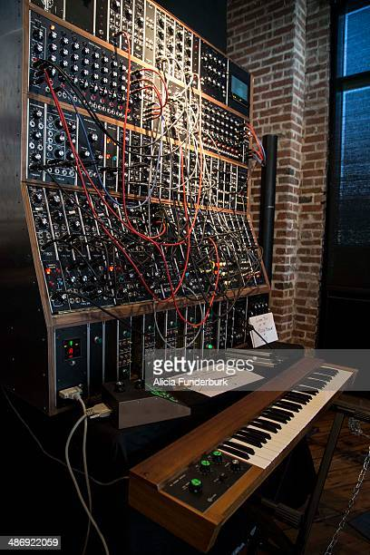 View of the new Emerson Modular System at Moogfest 2014 on April 26, 2014 in Asheville, North Carolina.