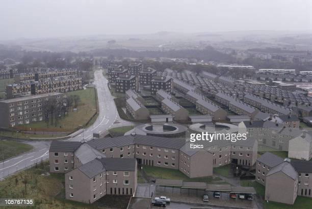 A view of the new town housing of Cumbernauld which was built to solve a chronic shortage of housing in postwar Glasgow November 1970