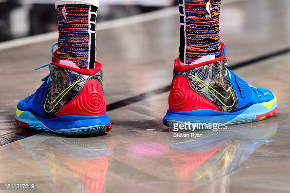 A View Of The Nike Shoes Worn By Caris Levert Of The Brooklyn Nets News Photo Getty Images