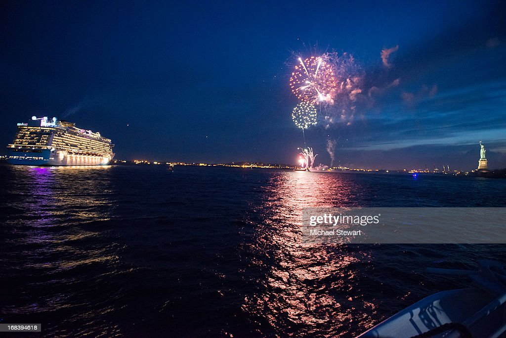 A view of the Norwegian Breakaway at Miss Universe 2012 Olivia Culpo 21st Birthday Celebration at World Yacht - The Duchess on May 8, 2013 in New York City.