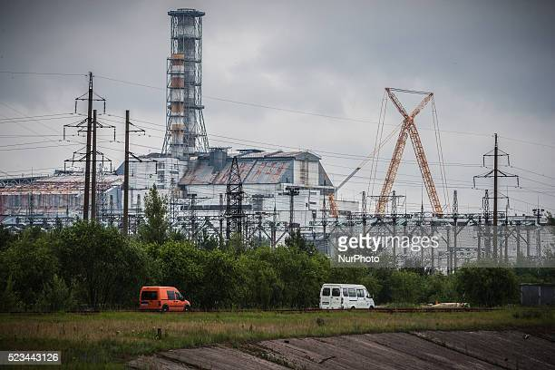 View of the nuclear reactor number 4 in Chernobyl at work on June 12 2013 The Chernobyl disaster was a catastrophic nuclear accident that occurred on...