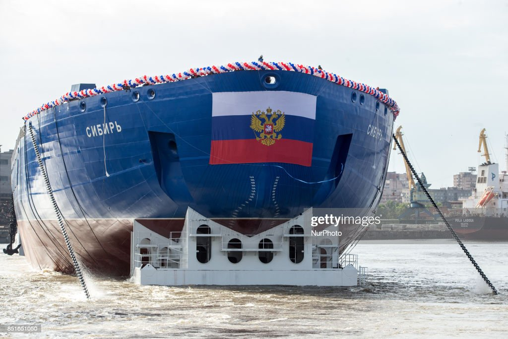 Launched a new nuclear-powered icebreaker &quot