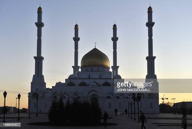 View of the NurAstana mosque and Islamic centre in Kazakhstan's capital Astana October 12 2010 The Islamic Center was built in 2005 and was sponsored...