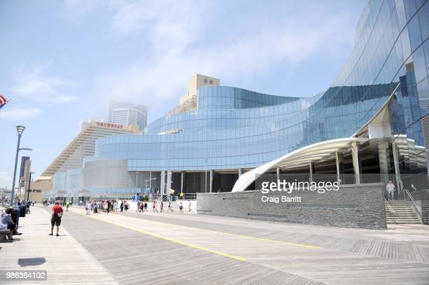 A view of the Ocean Resort Hotel exterior on June 28 2018 in Atlantic City New Jersey