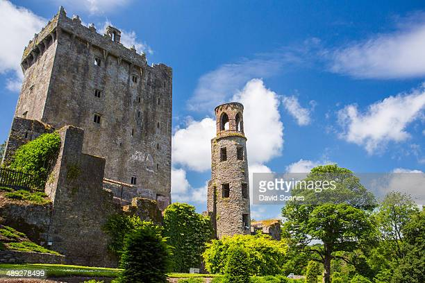 CONTENT] A view of the old Blarney Castle and tower in Cork Ireland