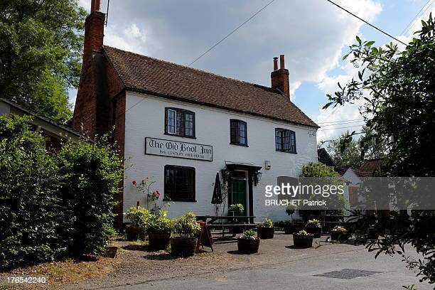 A view of the Old Boot Inn Pub in Stanford Dingley near Bucklebury on July 26 2013 in England Bucklebury is the home of the Middleton family and...