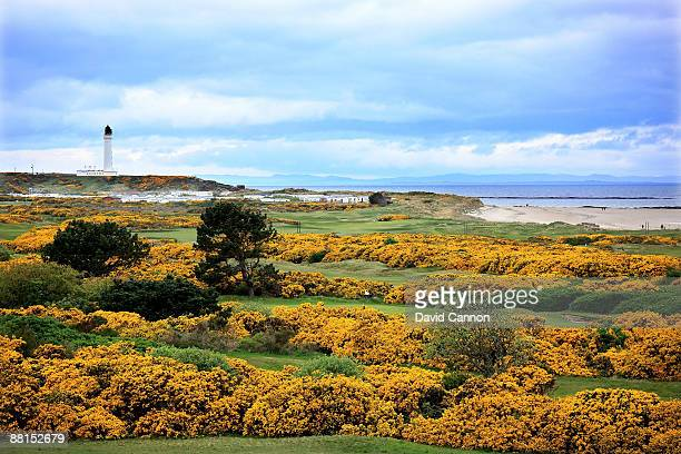 View of the Old Course at Moray Golf Club on May 4, 2009 in Lossiemouth, Scotland.
