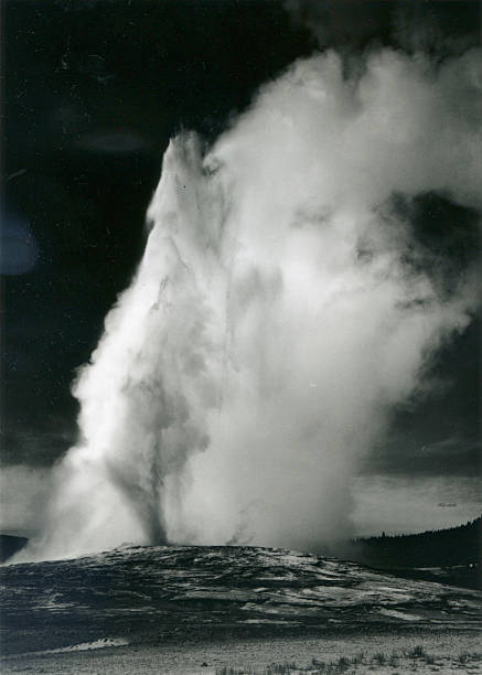 'Old Faithful Geyser, Yellowstone National Park'