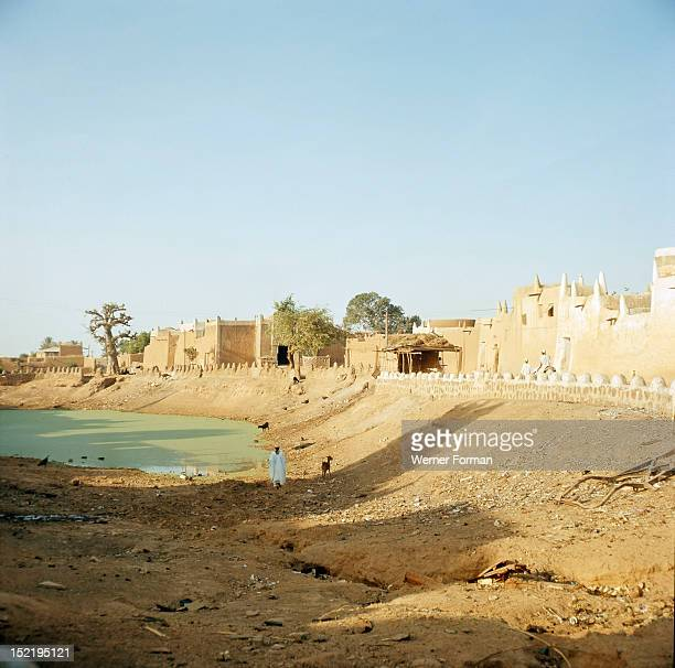 A view of the old part of Kano one of the major HausaFulani city states of northern Nigeria Nigeria Hausa early 1960's Northern Nigeria