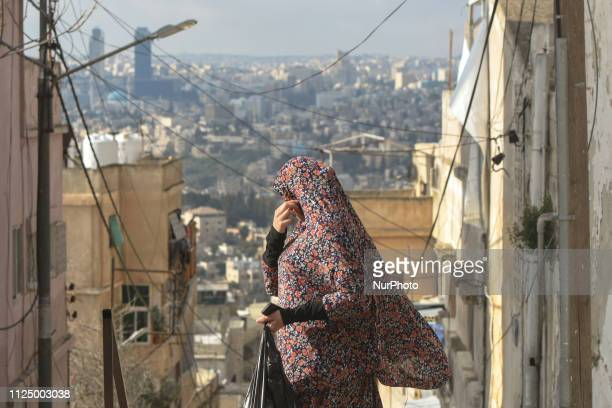 A view of the Old Town of Amman On Tuesday February 12 in Amman Jordan