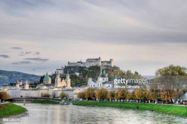 View of the old town of Salzburg - Austria
