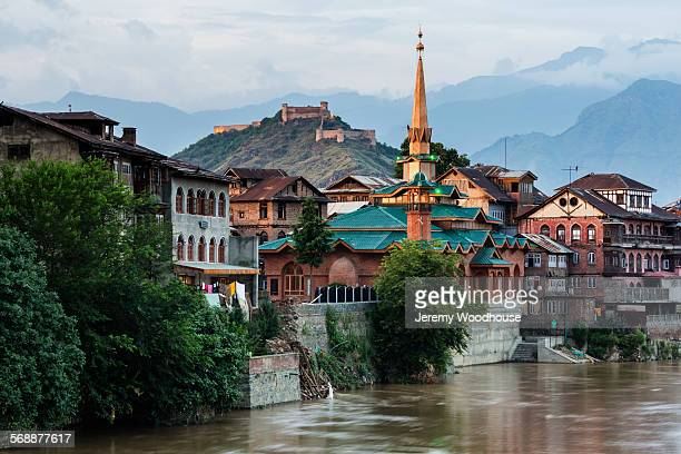 View of the Old Town of Srinagar