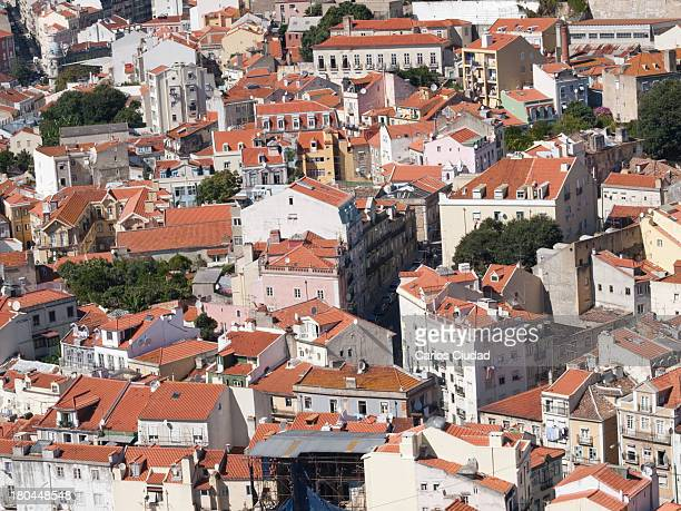View of the older part of Lisbon from the castle. This one of the most visited places in Portugal. In the last months tourism in Portugal has seen...