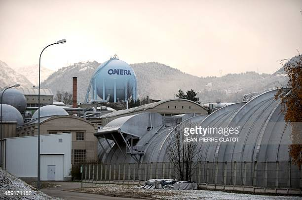 A view of the ONERA Modane center used for aeronautical testing in Modane southeastern France on November 18 2014 The center boasts the largest and...