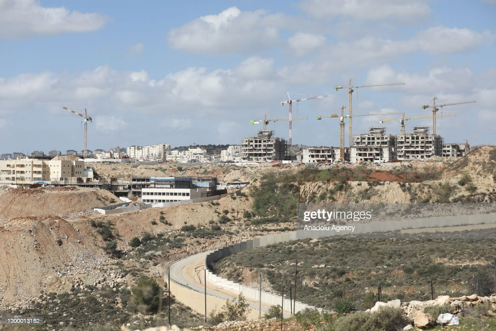Ongoing constructions in Modi'in Illit : News Photo