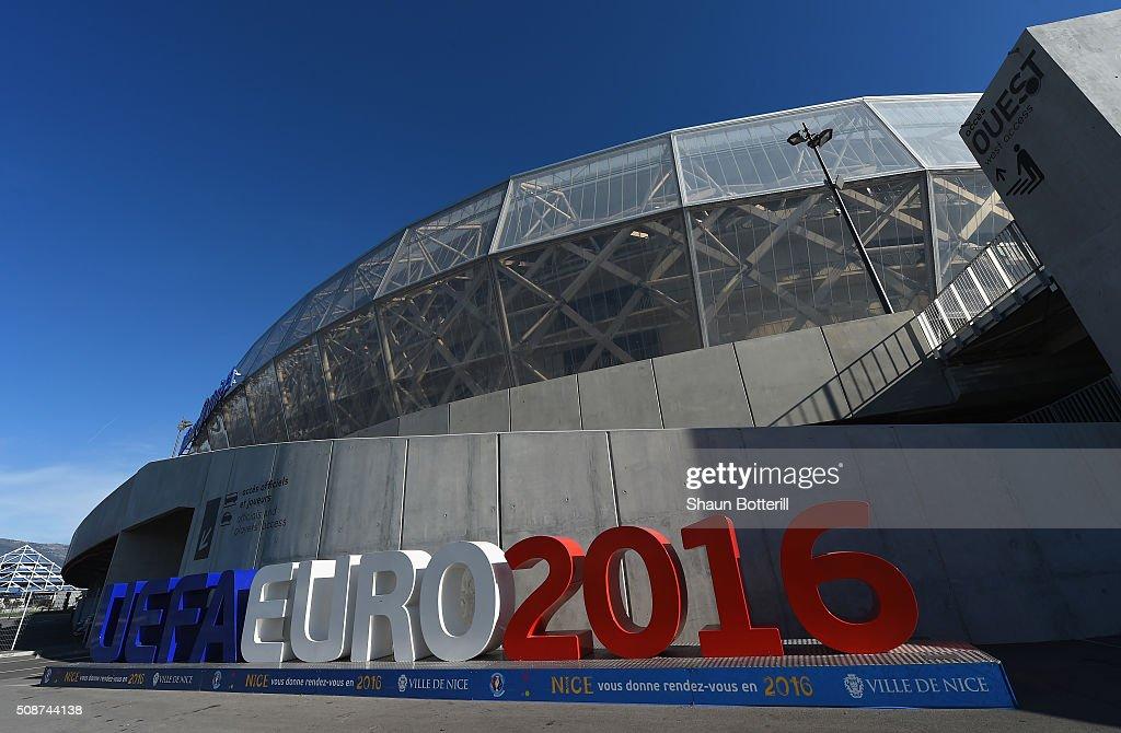 General Views of Allianz Riviera Stadium - UEFA Euro Venues France 2016 : News Photo