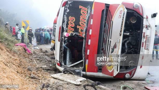 24 Bus Crash In Ecuador Pictures, Photos & Images - Getty Images