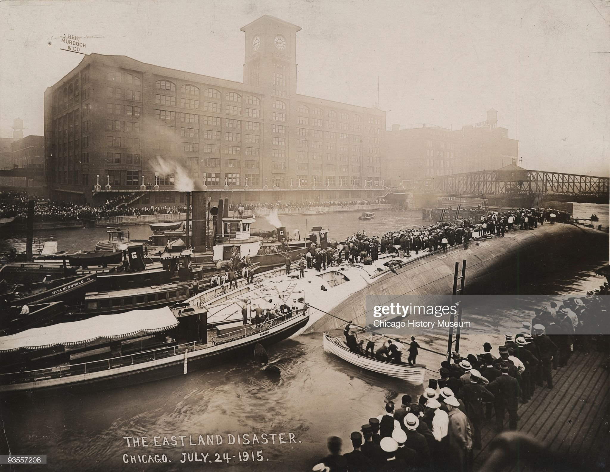 The SS Eastland Disaster : News Photo