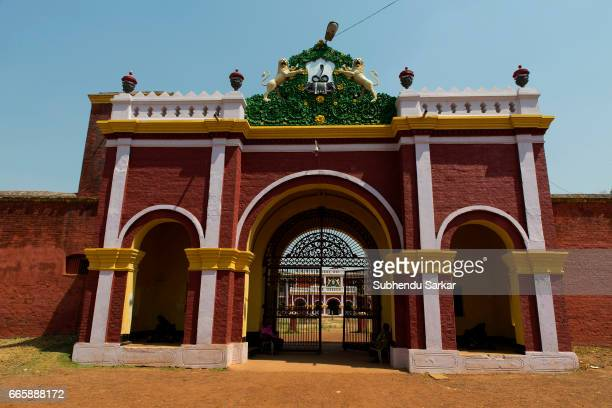 RATU RANCHI JHARKHAND INDIA A view of the palace of the king of Ratu in Chotanagpur area