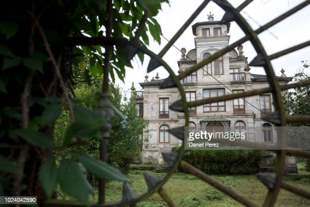 A view of the Palacio de Partarriu also know as Villa Parres on July 29 2018 in Llanes Spain